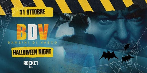 I Bambini di Vasco @Rocket | Halloween Night - Vasco Rossi tribute band
