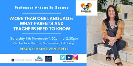 More than one language: what parents and teachers need to know tickets