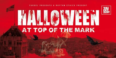 HALLOWEEN at TOP OF THE MARK with 360 DEGREE VIEW tickets