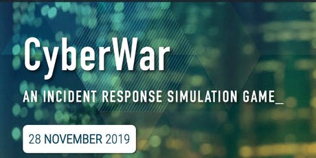 CyberWar: An incident response simulation game tickets