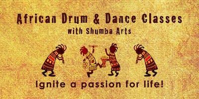 African Drum & Dance Classes ~ Exeter