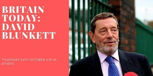 Britain Today: David Blunkett