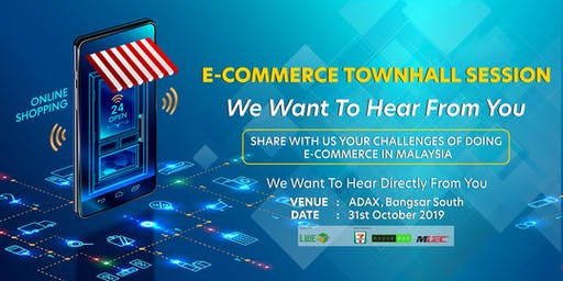 eCommerce Townhall: Challenges of Doing eCommerce in Malaysia