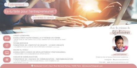 Es-tu faite pour l'entrepreneuriat ? billets