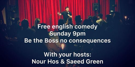 Dead end Comedy -Free English Comedy show with a Twist!