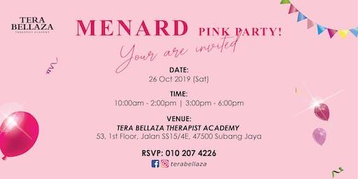 Menard Pink Party