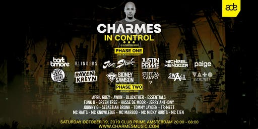 Charmes In Control - Amsterdam Dance Event '19