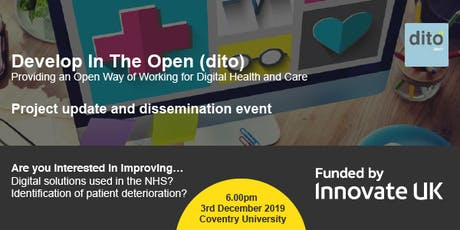 Develop In The Open (dito) tickets