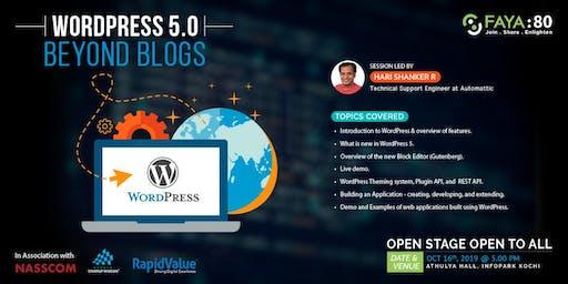 WordPress 5.0 -  Beyond Blogs