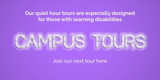Supported Learning Campus Tour Wednesday 13 November 2019