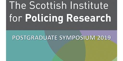 Scottish Institute for Policing Research - Postgraduate Symposium