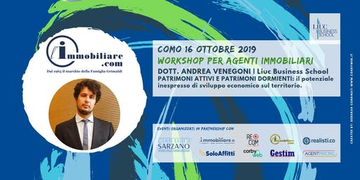 WORKSHOP | PATRIMONI ATTIVI E PATRIMONI DORMIENTI | LIUC Business School