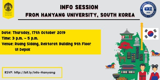Info Session from Hanyang University