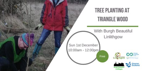 Tree Planting at Triangle Wood by Burgh Beautiful Linlithgow tickets