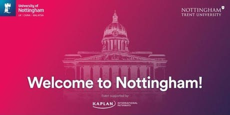Nottingham International Student Welcome Civic Reception - Kaplan UNIC tickets