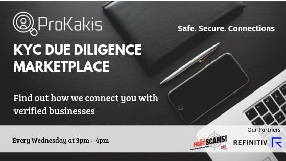 ProKakis KYC Due Diligence Marketplace