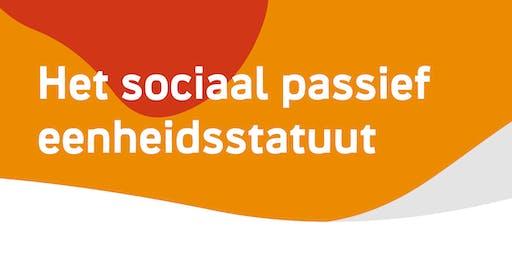 Infosessie 'sociaal passief eenheidsstatuut: fiscale aftrek' - Vosselaar