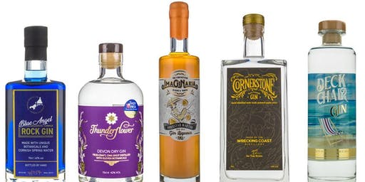 An Intimate Gin tasting experience
