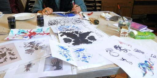 GOTHIC ART & INKY BATS with artist Tiana Marie