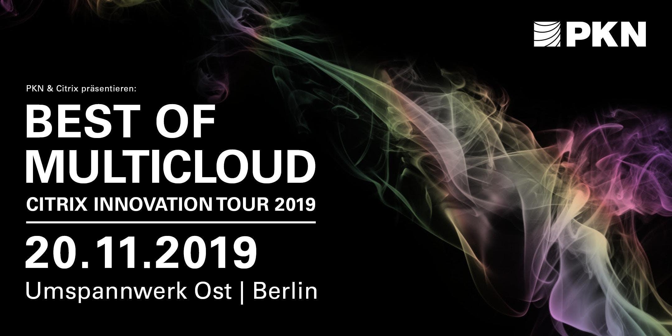 Citrix Innovation Tour 2019 in Berlin