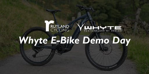 Whyte Electric Bike Demo Day