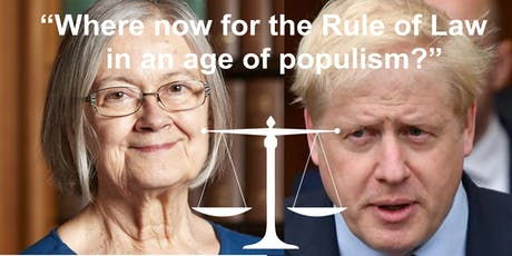 """Law Lecture """"Where now for the Rule of Law in an age of populism?"""" tickets"""