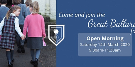 Open Morning tickets