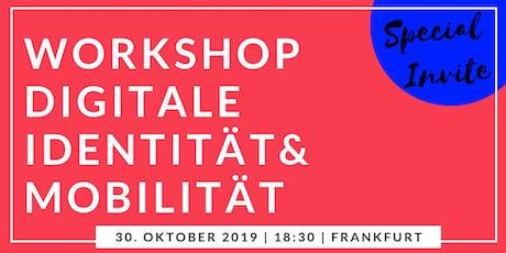 Workshop zu Digitale Identität & Mobilität Tickets