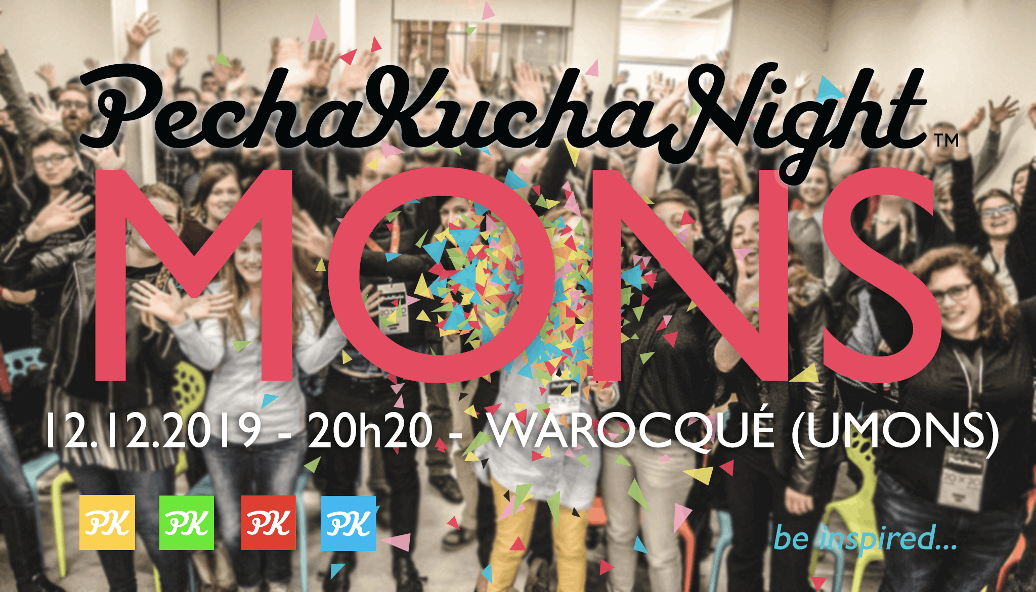 19th Pechakucha Mons Night -!