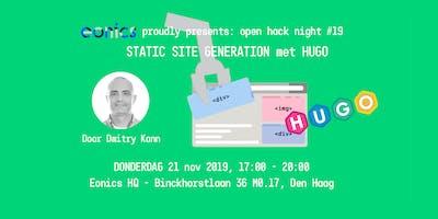 Eonics Hack Night #19 Static Site Generation met H