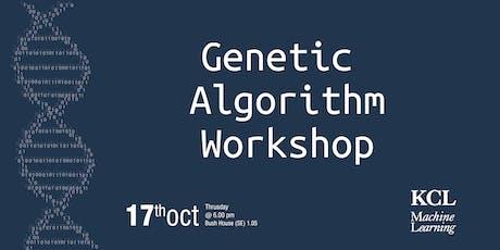Genetic Algorithm Workshop tickets