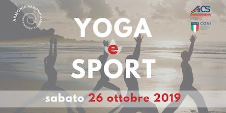 Yoga e Sport biglietti