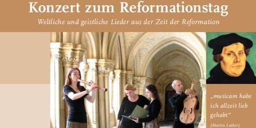 Konzert zum Reformationstag - Fortuna Canta