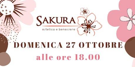 Grande inaugurazione Sakura Estetica e Benessere - Giarre biglietti