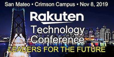 Rakuten Technology Conference - San Mateo