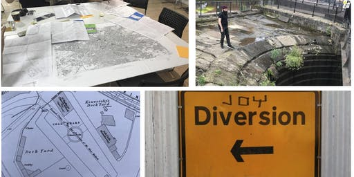Joy Diversion 9 - exploring, mapping & meandering in Manchester & Salford