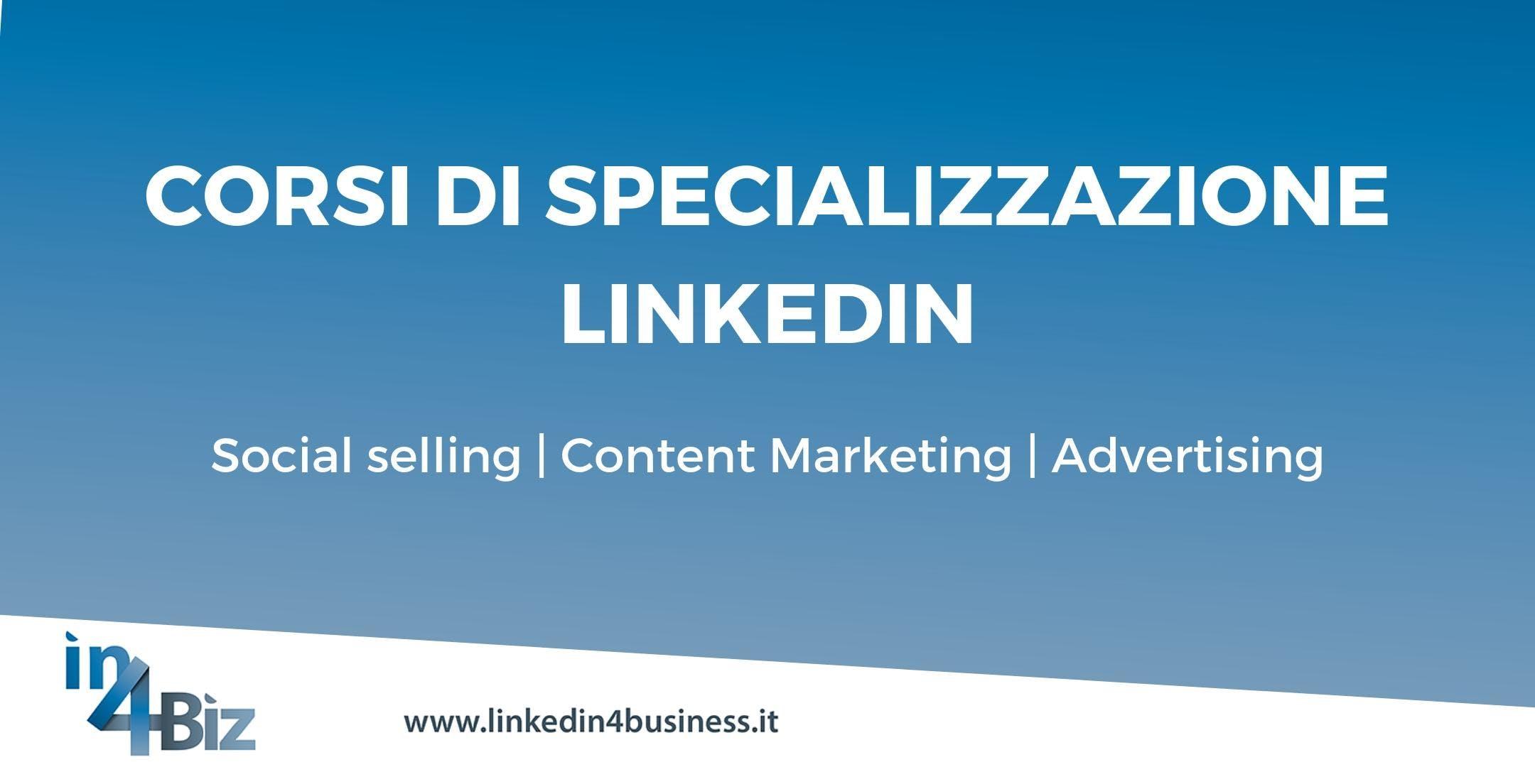 Corsi di specializzazione LinkedIn II edizione 2019