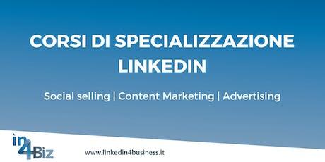 Corsi di specializzazione LinkedIn II edizione 2019 biglietti