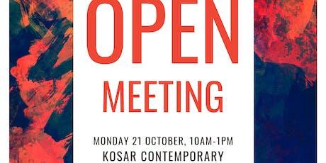 DIY Arts Network Open Meeting - October 2019 tickets