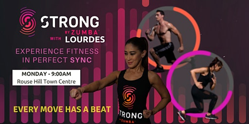 STRONG By Zumba With LOURDES (Monday Session)