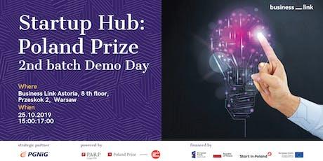 Startup Hub: Poland Prize 2nd batch Demo Day tickets