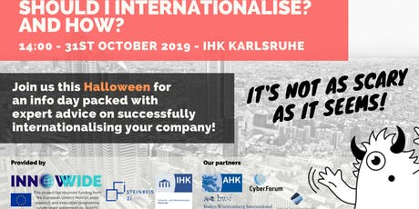 Infoday: Should I internationalise? And How? Tickets