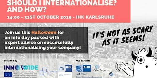 Infoday: Should I internationalise? And How?
