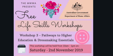 Life Skills Workshop by MWWA - Series 3 tickets