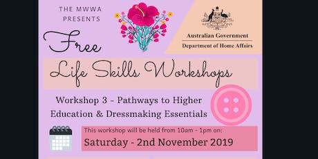 Life Skills Workshop by MWWA - Series 3 tickets