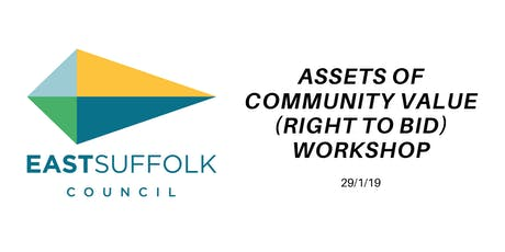 Asset of Community Value (Right to Bid) Workshop tickets