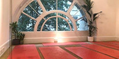 Restorative Yoga + Dinner tickets