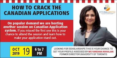 How to crack the Canadian Applications