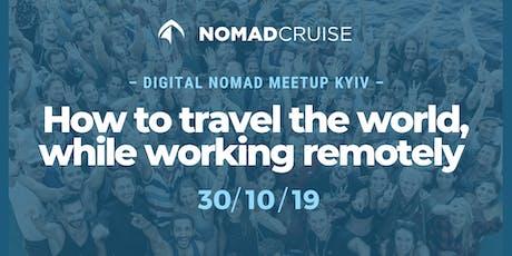 Digital Nomad meet-up: як подорожувати світом, працюючи віддалено tickets