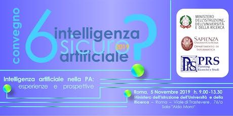 Intelligenza artificiale nella PA: esperienze e prospettive biglietti